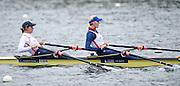 Caversham. Berkshire. UK<br /> GBR W2X. bow katherine GRAINGER and Vicky THORNLEY.<br /> 2016 GBRowing European Team Announcement,  <br /> <br /> Wednesday  06/04/2016 <br /> <br /> [Mandatory Credit; Peter SPURRIER/Intersport-images]
