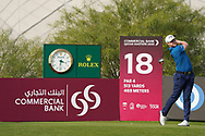 Oliver Fisher (ENG) during the third round of the Commercial Bank Qatar Masters 2020, Education City Golf Club , Doha, Qatar. 07/03/2020<br /> Picture: Golffile | Phil Inglis<br /> <br /> <br /> All photo usage must carry mandatory copyright credit (© Golffile | Phil Inglis)