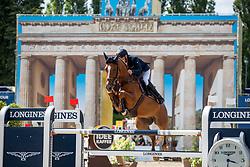 BOST Roger Yves (FRA), Vino d'Espinet<br /> Berlin - Global Jumping Berlin 2018<br /> CSI5* Preis der Familie Eduard Winter<br /> 27. Juli 2018<br /> © www.sportfotos-lafrentz.de/Stefan Lafrentz