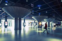 Interior of Potsdamer Platz railway station in Berlin Germany
