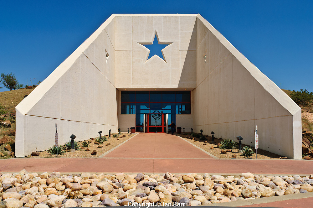 Rest Area on Interstate 40 in Texas, USA.