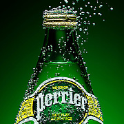 Bubbles emerging from Perrier bottle in front of green background Ray Massey is an established, award winning, UK professional  photographer, shooting creative advertising and editorial images from his stunning studio in a converted church in Camden Town, London NW1. Ray Massey specialises in drinks and liquids, still life and hands, product, gymnastics, special effects (sfx) and location photography. He is particularly known for dynamic high speed action shots of pours, bubbles, splashes and explosions in beers, champagnes, sodas, cocktails and beverages of all descriptions, as well as perfumes, paint, ink, water – even ice! Ray Massey works throughout the world with advertising agencies, designers, design groups, PR companies and directly with clients. He regularly manages the entire creative process, including post-production composition, manipulation and retouching, working with his team of retouchers to produce final images ready for publication.