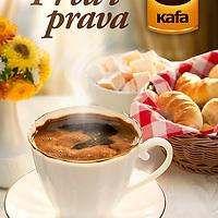 Key visual for serbian coffee brand C kafa for 2019 Creative concept: Kreativa unlimited<br /> Photography: Aleksandar Damnjanovic