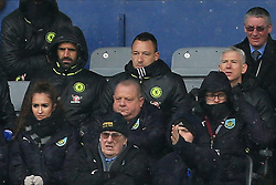 12th February 2017 - Premier League - Burnley v Chelsea - John Terry of Chelsea watches the game from the away stand - Photo: Simon Stacpoole / Offside.