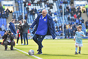 Accrington Stanley Manager, John Coleman during the EFL Sky Bet League 1 match between Portsmouth and Accrington Stanley at Fratton Park, Portsmouth, England on 4 May 2019.