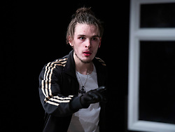 The Removal Service <br /> By Will Pattle and Alice Briganti <br /> Directed by Luke Adamson<br /> Presented by OVO<br /> At The Maltings Theatre, St. Albans, Hertfordshire, Great Britain <br /> Rehearsal / press photo call <br /> 12th March 2021 <br /> <br /> Live stream:<br /> Saturday 13th March 2021 at 7.30pm<br /> <br /> Recording available to stream:<br /> Sunday 14th to Saturday 27th March 2021<br /> <br /> WILL PATTLE as Greg<br /> <br /> <br /> Set design by Simon Nicholas<br /> Costume design by Delga Martineau<br /> Lighting design by Adam Bottomley<br /> <br /> Photograph by Elliott Franks