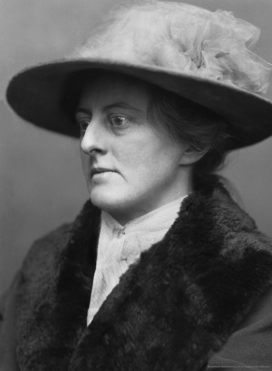 Mary Webb, English Romantic Novelist and Poet, 1923