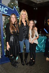 MELISSA ODABASH and her daughters ALAI DE SANTIS and AVALON DE SANTIS at the official opening of the 2014 Tiffany & Co.Christmas Shop on Bond Street, London on 16th November 2014.