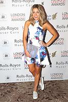 Olivia Cox, London Lifestyle Awards, Lancaster London Hotel UK, 03 October 2016, Photo by Richard Goldschmidt