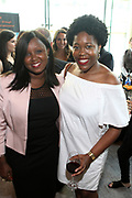 June 12, 2017-New York, New York-United States: (L-R) Lillian Chege, CareerBox and Tiffany Minott attend ' Cocktails & Conversation with Ambassador Zindzi Mandela 'highlighting the advocacy for the equity and rights of girls and women held at the Lincoln Ristorante at Lincoln Center on June 12, 2017 in New York City. Powered by CareerBox Soweto, the organization's mission is fulfill the hopes and dreams of youth of South Africa. (Photo by Terrence Jennings/terrencejennings.com)