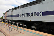 Metrolink Commuter Train