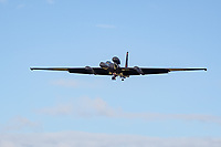 """China has fired two missiles in South China Sea 'as a  warning to the  US' after a spy plane entered no-fly zone ,THe USAF Lockheed U-2, nicknamed """"Dragon Lady"""", is an American single-jet engine, high altitude reconnaissance aircraft (Spy Plane)photos at RAF Fairford Chris waynne"""