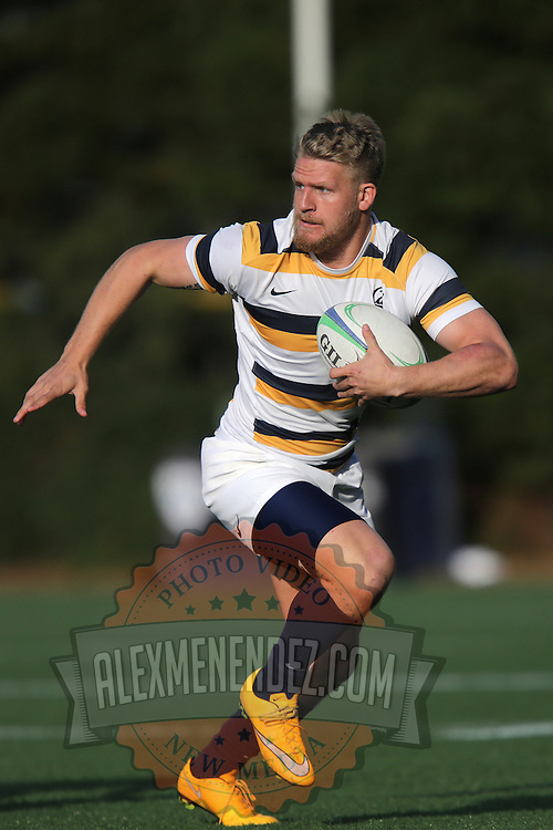 BERKELEY, CA - NOVEMBER 08:  Jesse Milne #12 of California is seen during the PAC Rugby 7's Championship between UCLA and California at Witter Rugby Field at the University of California on November 8, 2015 in Berkeley, California. California won the match by a score of 17-5. (Photo by Alex Menendez/Getty Images) *** Local Caption *** Jesse Milne