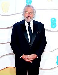 Robert De Niro attending the 73rd British Academy Film Awards held at the Royal Albert Hall, London.