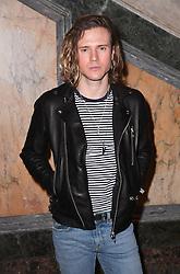 Dougie Poynter at the Julien Macdonald Autumn/Winter 2017 London Fashion Week show at Goldsmiths' Hall, London. Photo credit should read: Doug Peters/ EMPICS Entertainment