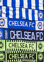 Football - 2018 FA Cup Final - Chelsea vs. Manchester United<br /> <br /> Scarves on display ahead of kick off at Wembley Stadium.<br /> <br /> COLORSPORT/DANIEL BEARHAM