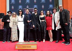 07 March 2018 - Hollywood, California - Benji Madden, Nicole Richie, Lisa Parigi, Lionel Richie, Miles Richie, Sofia Richie, Brenda Richie. Lionel Richie Hand and Footprint Ceremony held at TCL Chinese Theatre. Photo Credit: F. Sadou/AdMedia
