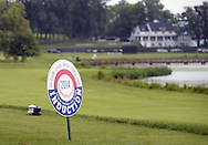 """COOPERSTOWN, NY - JULY 26: A general view of the course during the annual """"Hall of Fame Golf Classic"""" at the Leatherstocking Golf Club in Cooperstown, New York on July 26, 2014."""