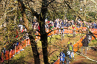 ILLUSTRATION COURSE HOMMES ELITE  - 11.01.2015 - Cyclo cross - Championnats de France Femmes - Pontchateau<br /> Photo : Vincent Michel / Icon Sport