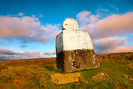 Fat Betty's cross, Rosedale head. North Yorks National Park, North Yorkshire, England .<br /> <br /> Visit our ENGLAND PHOTO COLLECTIONS for more photos to download or buy as wall art prints https://funkystock.photoshelter.com/gallery-collection/Pictures-Images-of-England-Photos-of-English-Historic-Landmark-Sites/C0000SnAAiGINuEQ