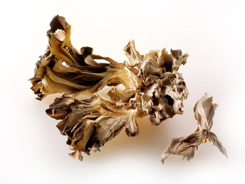 Dried Maitake mushrooms