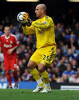 Fotball<br /> England<br /> Foto: Fotosports/Digitalsport<br /> NORWAY ONLY<br /> <br /> Jose Reina<br /> Liverpool 2009/10<br /> Chelsea V Liverpool (2-0) 04/10/09<br /> The Premier League