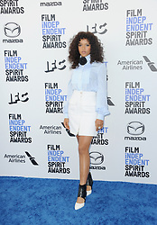 Taylor Russell at the 35th Annual Film Independent Spirit Awards held at the Santa Monica Beach in Santa Monica, USA on February 8, 2020.