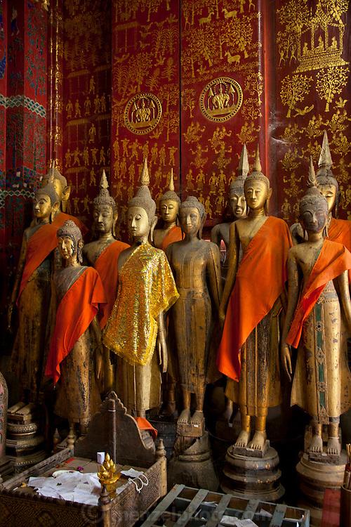 Wat Xieng Thong, Buddhist Temple in Luang Prabang, Laos.