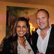 NLD/Amsterdam/20121013- LAF Fair 2012 VIP Night, Esther Oosterbeek en Rolf Timmer