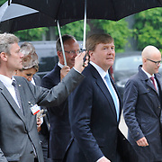 Koning en koningin bezoeken Noordrijn-Westfalen.<br /> Nederlands – Duitse bedrijvenbijeenkomst  bij SchlossMoyland<br /> <br /> King and Queen visit North Rhine-Westphalia.<br /> Dutch - German companies meeting SchlossMoyland<br /> <br /> Op de foto / On the photo:  <br /> <br />  Koning Willem Alexander / King Willem Alexander