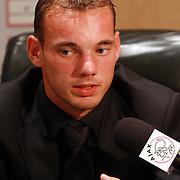 NLD/Amsterdam/20070801 - Persconferentie LG Amsterdam Tournament 2007, Wesley Sneijder