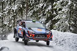 February 15, 2018 - Suede - Hayden Paddon (NZL) Ð Sebastian Marshall (GBR) - Hyundai i20 WRC (Credit Image: © Panoramic via ZUMA Press)