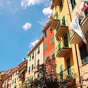 Facades at Riomaggiore