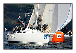 The Brewin Dolphin Scottish Series, Tarbert Loch Fyne...GBR66R Christie Cancer Care J109  RStGYC Hyland / Biggs..