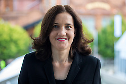 © Licensed to London News Pictures. 30/09/2019. Manchester, UK. MP Theresa Villiers on the second day of the Conservative Party Conference at Manchester Central in Manchester. Photo credit: Andrew McCaren/LNP