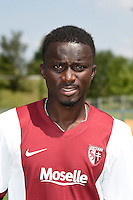 Mayoro NDOYE - 01.08.2014 - Photo Officielle de Metz -<br /> Photo : Fred Marvaux / Icon Sport