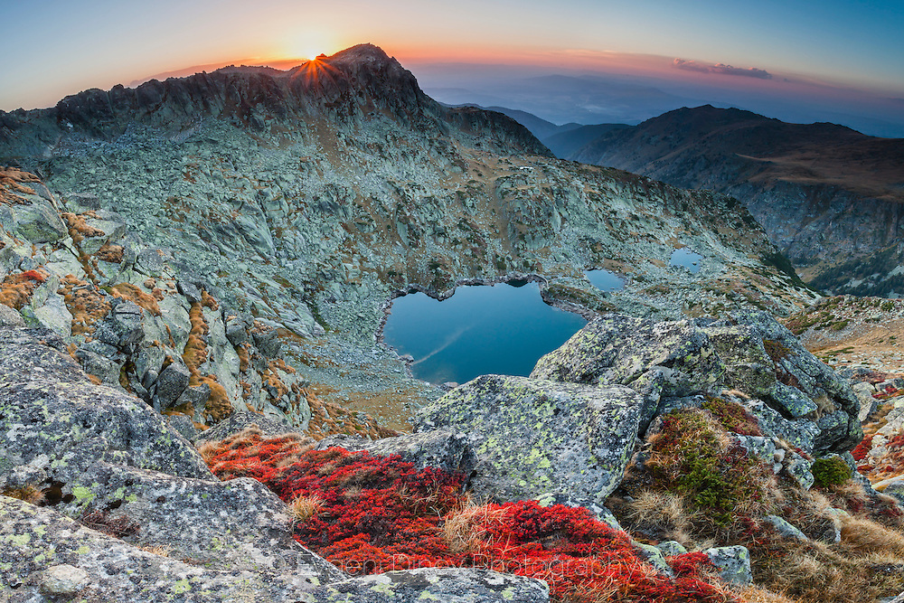 Rila Mountain in the end of September