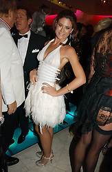 FRANCESCA VERSACE at Andy & Patti Wong's annual Chinese New year Party, this year to celebrate the Year of The Pig, held at Madame Tussauds, Marylebone Road, London on 27th January 2007.<br /><br />NON EXCLUSIVE - WORLD RIGHTS