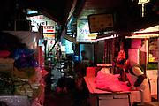 Butcher at a traditional market place in the Korean capital. Seoul, South Korea, Republic of Korea, KOR, 23.12.2009.