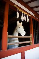 Horse at Itsukushima Shrine, Itsukushima Shrine