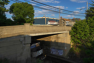 A train passes under a bridge as the Emmaus Theatre is seen in the background in Emmaus, Pennsylvania. Emmaus Theatre is among about a dozen Southeastern Pennsylvania theaters built in the early 1900's that are still active. Opened in 1909, Emmaus Theatre has given community members the chance to pay for special personalized messages on what they've dubbed the Emmaus Theatre Community Marquee as a way to raise money during the COVID-19 pandemic which has seen a dramatic halting in business for the local theater in Emmaus, Pennsylvania. Emmaus Theatre is among about a dozen Southeastern Pennsylvania theaters built in the early 1900's that are still active. Opened in 1909, Emmaus Theatre has given community members the chance to pay for special personalized messages on what they've dubbed the Emmaus Theatre Community Marquee as a way to raise money during the COVID-19 pandemic which has seen a dramatic halting in business for the local theater in Emmaus, Pennsylvania.