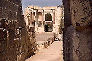 Israel, Bet Shean, Scythopolis, Roman theatre dating from the first century CE.