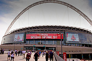Wembley Stadium during the Ladbrokes Challenge Cup Final 2017 match between Hull RFC and Wigan Warriors at Wembley Stadium, London, England on 26 August 2017. Photo by Simon Davies.