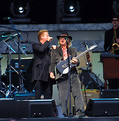 The Eagles at Hampden<br />Don Henley & Joe Walsh<br /><br />22/7/2001<br /><br />Pic : M Schofield