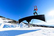 Jesper Tjader during Men's Ski Slopestyle Practice at during 2017 X Games Norway at Hafjell Alpinsenter in Øyer, Norway. ©Brett Wilhelm/ESPN