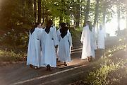 Promenade, Monastère de Beaufort 2013