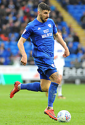 Callum Paterson of Cardiff City in action- Mandatory by-line: Nizaam Jones/JMP - 10/03/2018 -  FOOTBALL -  Cardiff City Stadium- Cardiff, Wales -  Cardiff City v Birmingham City - Sky Bet Championship