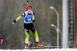 Urska Poje (SLO) during Women 15km Individual at day 5 of IBU Biathlon World Cup 2018/19 Pokljuka, on December 6, 2018 in Rudno polje, Pokljuka, Pokljuka, Slovenia. Photo by Ziga Zupan / Sportida
