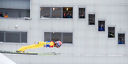 31.12.2014, Olympiaschanze, Garmisch Partenkirchen, GER, FIS Ski Sprung Weltcup, 63. Vierschanzentournee, Qualifikation, im Bild Andreas Kofler (AUT) // during qualification Jump of 63rd Four Hills Tournament of FIS Ski Jumping World Cup at the Olympiaschanze, Garmisch Partenkirchen, Germany on 2014/12/31. EXPA Pictures © 2014, PhotoCredit: EXPA/ JFK