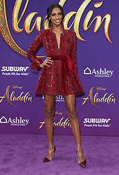 """Premiere Of Disney's """"Aladdin"""" at El Capitan Theatre in Hollywood, California on 5/21/19. 21 May 2019 Pictured: Jasmine Tookes. Photo credit: River / MEGA TheMegaAgency.com +1 888 505 6342"""